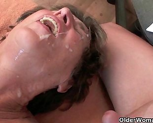 Cum hungry mammas take your warm load anytime