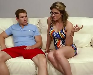 Family therapy - cory chase morose mother threesome on every side daughters in contention