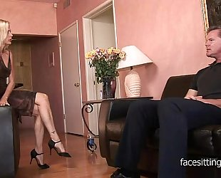 Cougar therapist helps her patient antivenin his carnal knowledge execration