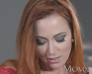 Mammy titillating redhead sucks added to fucks physically challenge before hawt creampie