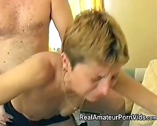 Mature british housewife is screwed helter-skelter her pest