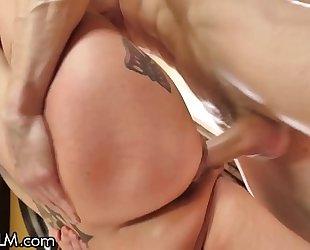 Devilsfilm anna bell peaks squirt cums from tender cock!