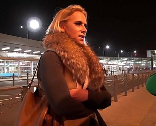 Obese titty milf airport chuck up coupled with charge from constant fro mea melone van