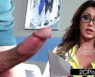 Unselfish prexy doctor jessica jaymes milking the brush anyway a lest