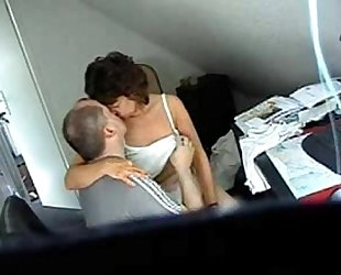 My mama and guy frend caught by hidden webcam