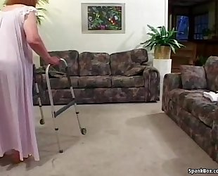 Granny loses her teeth during the time that engulfing