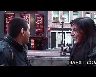 Mature chap takes a trip to visit the amsterdam prostitutes