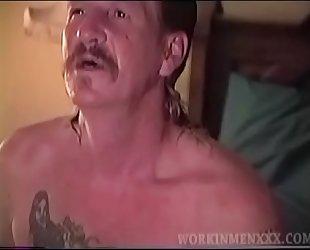 Mature Amateur Larry Jacking Off