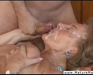 Mature whore brutally hatefucked by enraged stud