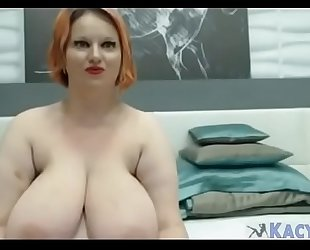 Mature Busty BBW With Huge Tits - KacyLive.com