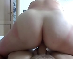 Riding Mature real homemade voyeur milf wife hidden ass amateur hidden Peeping couple Webcam POV bbw