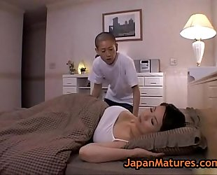 Miki sato and young man - sleeping (part 2 of 9)