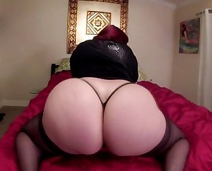 Pawg bbc whooty marcy diamond shaking massive a-hole get to watch