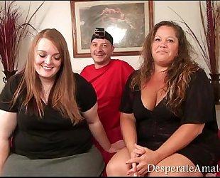 Casting despairing amateurs gopro bts footage bbw trio milf large milk cans monry m