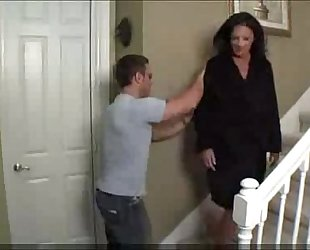 Mom copulates drunken son