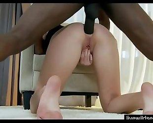 Interacial anal fuck creampie - livewildsexcams...