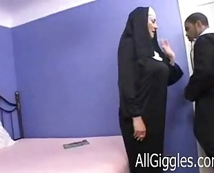 Interracial aged nun - dana hayes