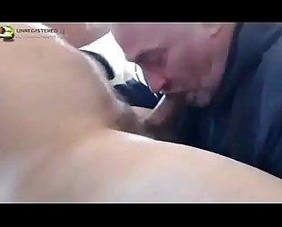 grandad deep throats a big cock
