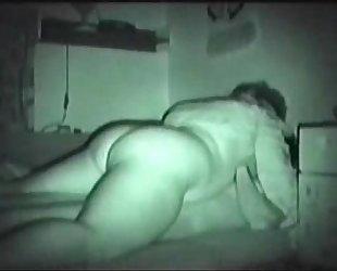 Fucking my aunt. hidden web camera