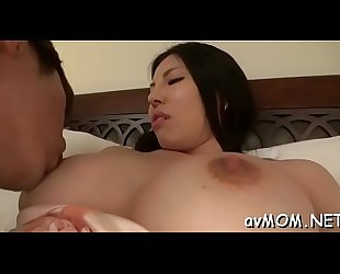 Hairy wet cunt mama takes two dildos to her clit making her moan