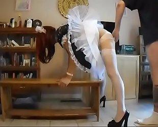 sissymaid spanking