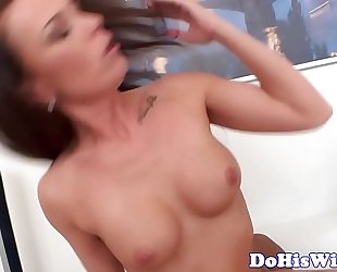 Married eurobabe fucked deeply by bbc