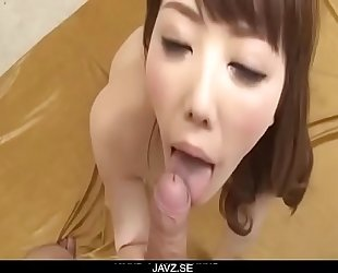 Cock engulfing babe, Rei Furuse, endures harsh sex - From JAVz.se