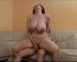 Does somebody know the name of this large titted pornstar?