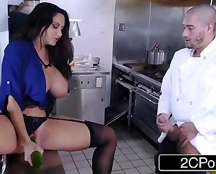 Dirty MILF Ava Addams Fucks Chef