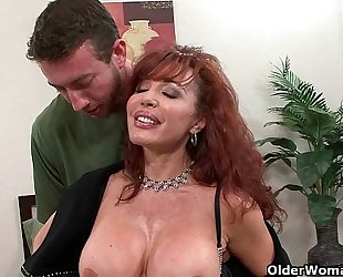 Sexy Vanessa will gladly take your cum load