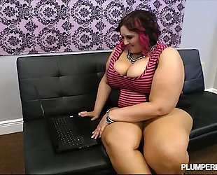Busty bbw copulates strange pecker online dating