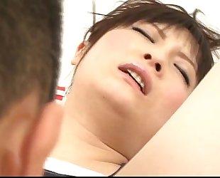 Sweet finger shagging moments for Rika Sonohara