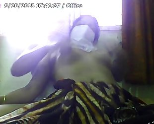 Desi white wife gone wild on skype-0