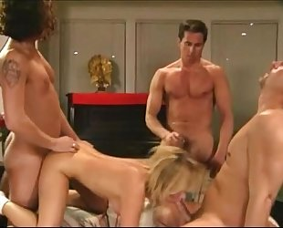 Gang group-sex wild style two (1994) - amanda rae with tom byron ,peter north,joey si