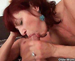 Can i cum in your throat mamma?