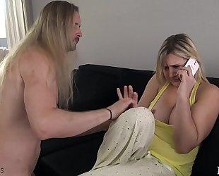 Mom receives screwed by sleepwalking son - fifi foxx & dong ninja