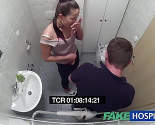 Fakehospital impure milf sex junkie acquires drilled by the doctor