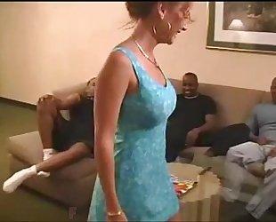 Birthday group-sex