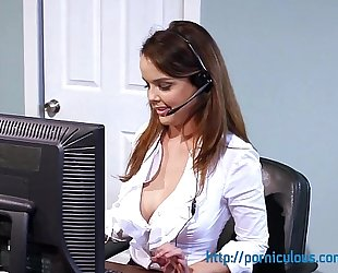 Big scoops at work - compilation - amia miley, dillion harper, and greater amount...