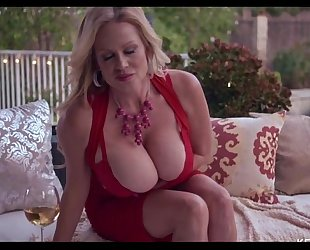 Busty kelly madison is smokin' hawt with a stogie