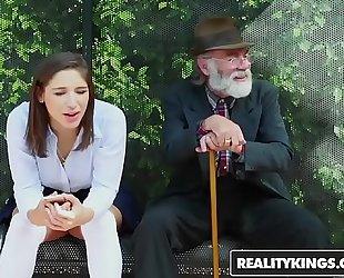 Realitykings - nubiles love biggest schlongs - (abella danger) - bus bench creepin