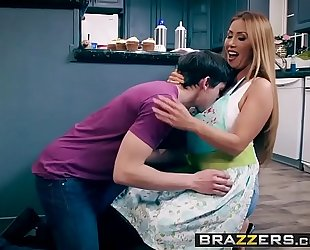 Brazzers.com - mom got tits - bake sale team fuck scene starring kianna dior and alex d