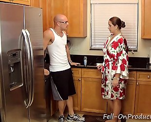 [taboo passions] son get's wicked with mommy madisin lee in got to workout