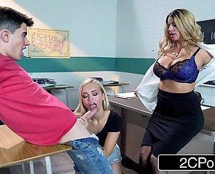 Horny teacher after class fuck-fest - brooklyn follow, alex grey, jordi