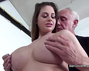 Cathy heaven fucking with grandpa ben dover