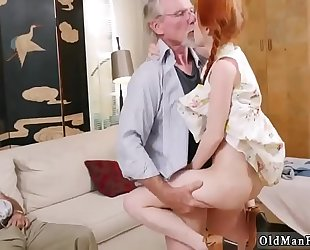 Old chap train youthful and mommy hardcore fuck 1st time online hook-up