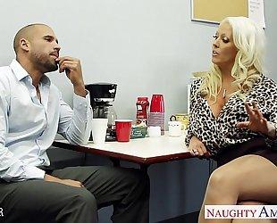 Hot sex teacher alura jenson fucking a big shaft