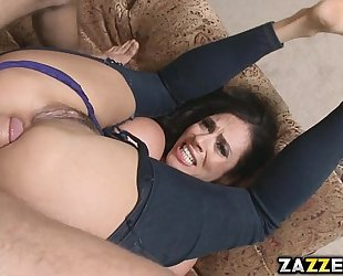 Ariella opens up and swallows that jism