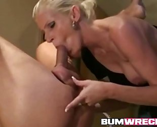 Horny aged blond horny white wife dong
