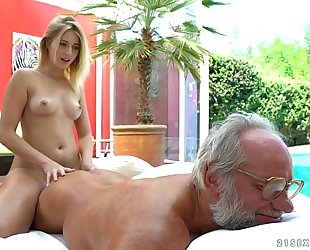 Aria logan and her much mature ally - grandpas fuck nubiles